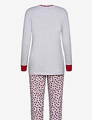 Schiesser - Pyjama Long - pyjama''s - grey melange - 1