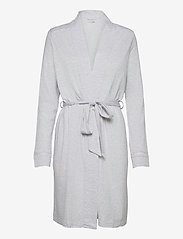 Schiesser - dressing gown - pegnoirs - grey melange - 0