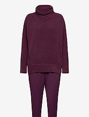 Schiesser - Pyjama Long - pyjama''s - plum - 0
