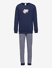 Schiesser - Boys Pyjama Long - sets - dark blue - 0