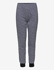 Schiesser - Girls Pyjama Long - sets - black - 2