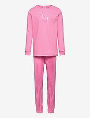 Schiesser - Girls Pyjama Long - sets - rose - 0