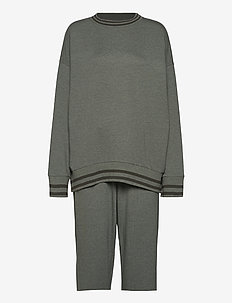 Pyjama Long - pyjama''s - khaki melange