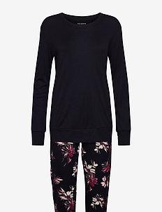 Pyjama Long - pyjama''s - anthracite