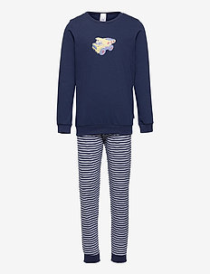 Boys Pyjama Long - sæt - dark blue