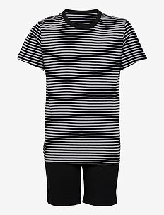 Boys Pyjama Short - sæt - black