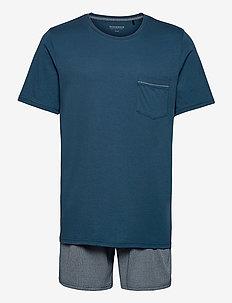 Pyjama Short - pyjamas - petrol