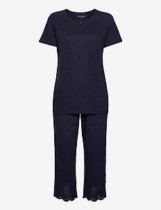 Pyjamas 3/4 - pyjama''s - nightblue