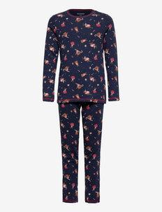Girls Pyjama Long - sets - nightblue