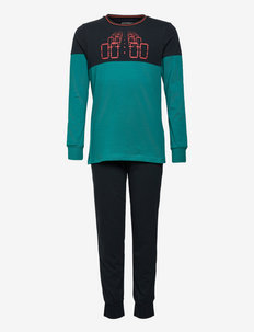 Boys Pyjama Long - sæt - anthracite
