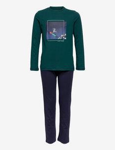 Boys Pyjama Long - sets - dark green