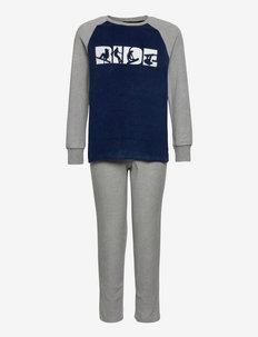 Boys Pyjama Long - sets - nightblue
