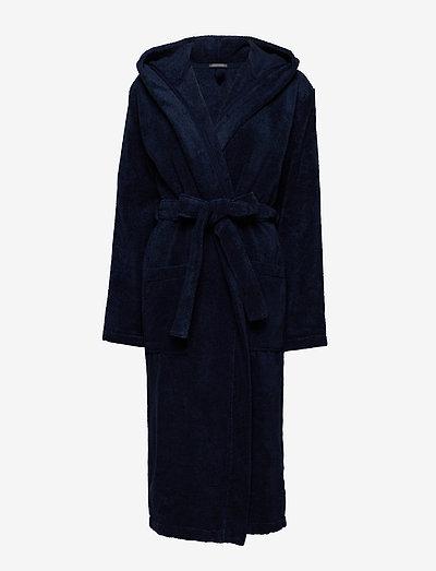 Bath Robe - bademäntel - navy
