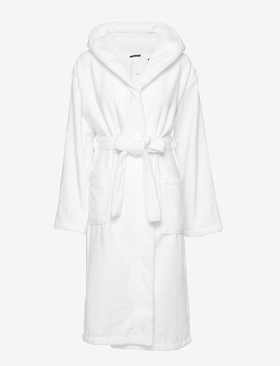 Bath Robe - bademäntel - white