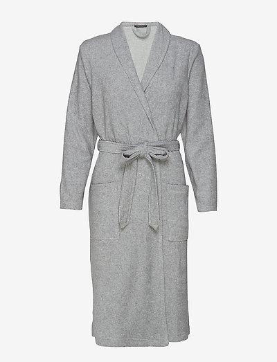 Bath Robe - bademäntel - grey melange