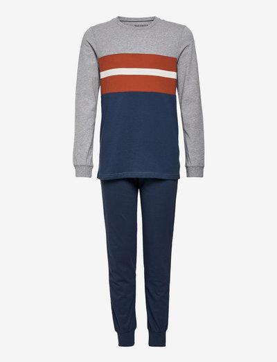 Boys Pyjama Long - sets - blue