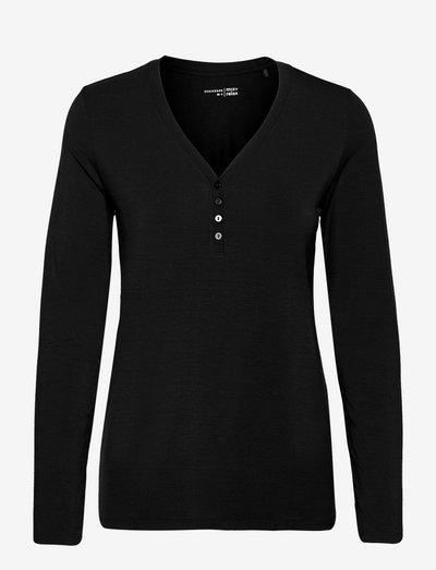 Shirt 1/1 - oberteile - black