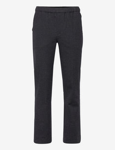 POP PANTS MINI CHECK - casual broeken - blue, grey and black