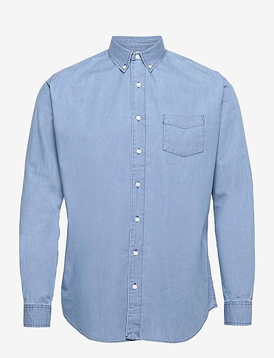 Shirt BD Summer Denim - casual shirts - bleached blue denim