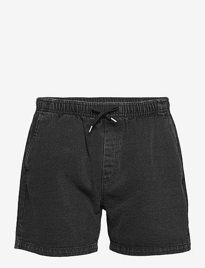 Shorts Denim - jeans shorts - washed black