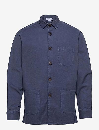 Overshirt Overdyed One - overshirts - dark blue