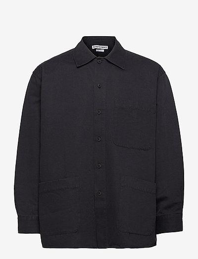 Overshirt Oversized - overshirts - black