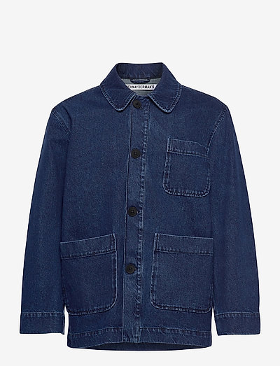 Chore Jacket Denim - denim jackets - washed indigo