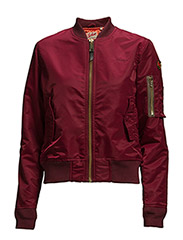 AC BOMBER JACKET WOMAN - BORDEAUX
