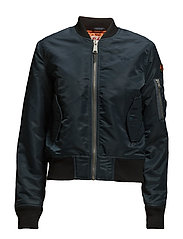 AC BOMBER JACKET WOMAN - NAVY