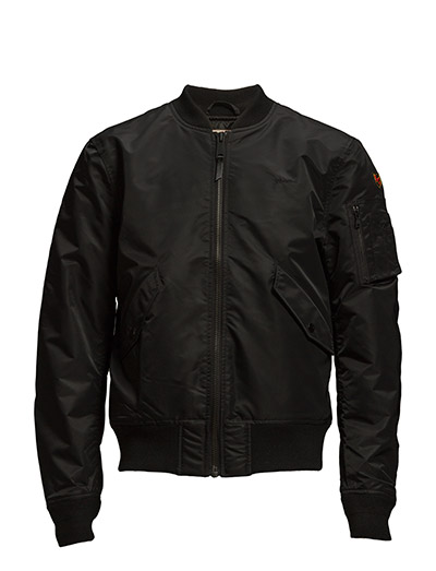 AC BOMBER JACKET MEN - BLACK