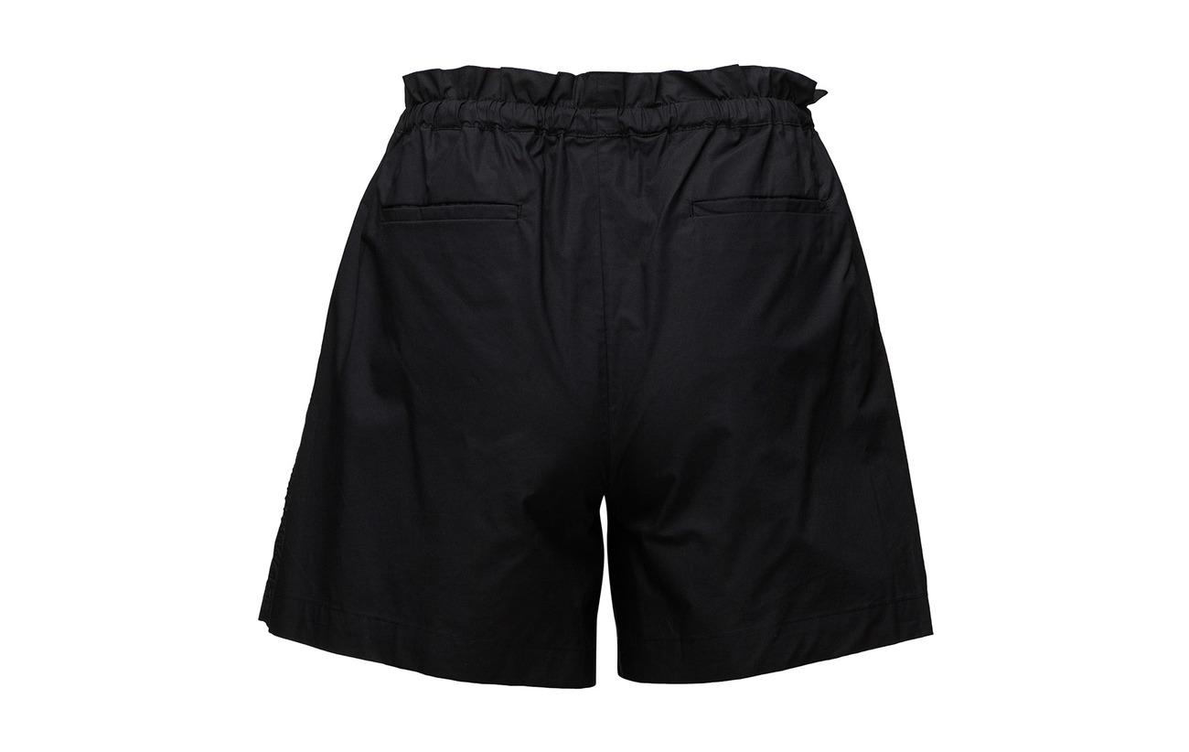 Détails Soda Équipement Black Scotch Technical Polyester Coton amp; Bordure Shorts 100 ARzqnWX4