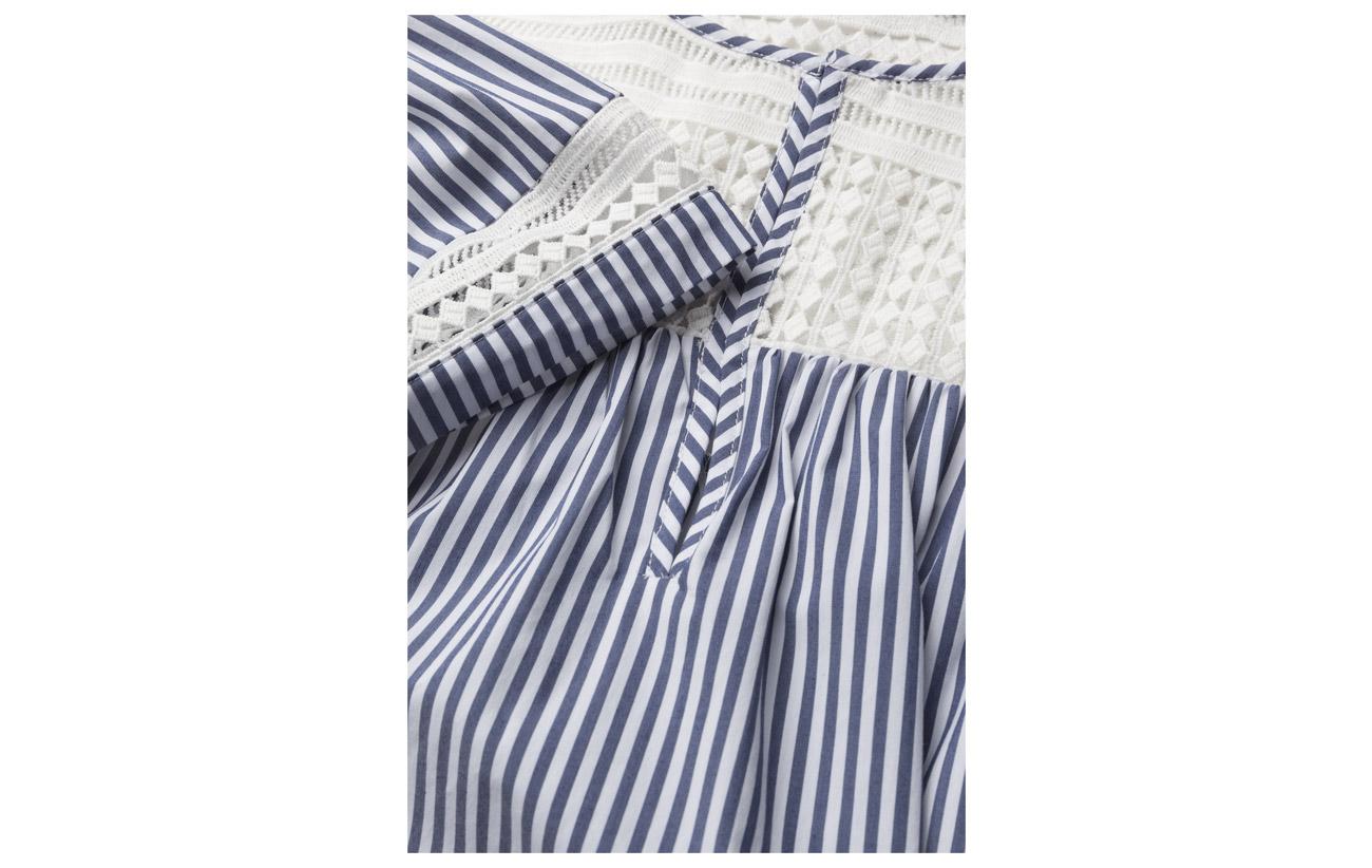 S Scotch amp; Coton Sleeve Short 70 Elastane Striped Combo Top Soda 3 Nylon 27 0fxWnf