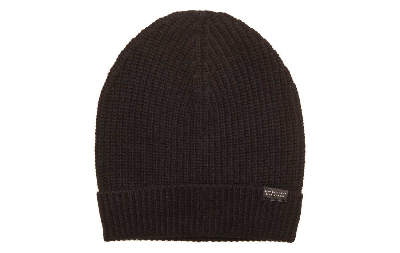 0419c272c2f96 Club Nomade Beanie Hat In Luxury Cashmere Quality (Black) (£22.48 ...