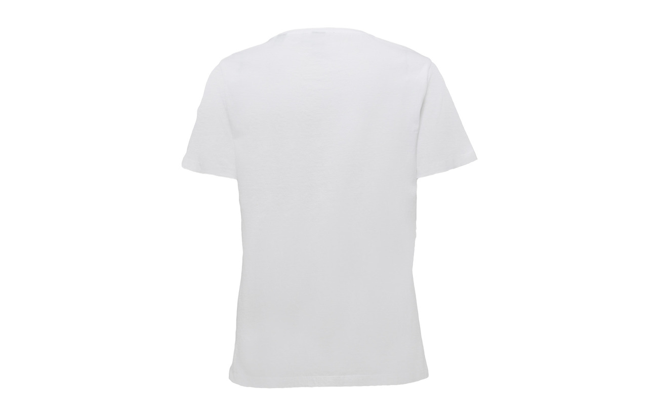 100 amp; With Tee White Soda Scotch Coton Relaxed Fit Artworks gU4H81HwqR