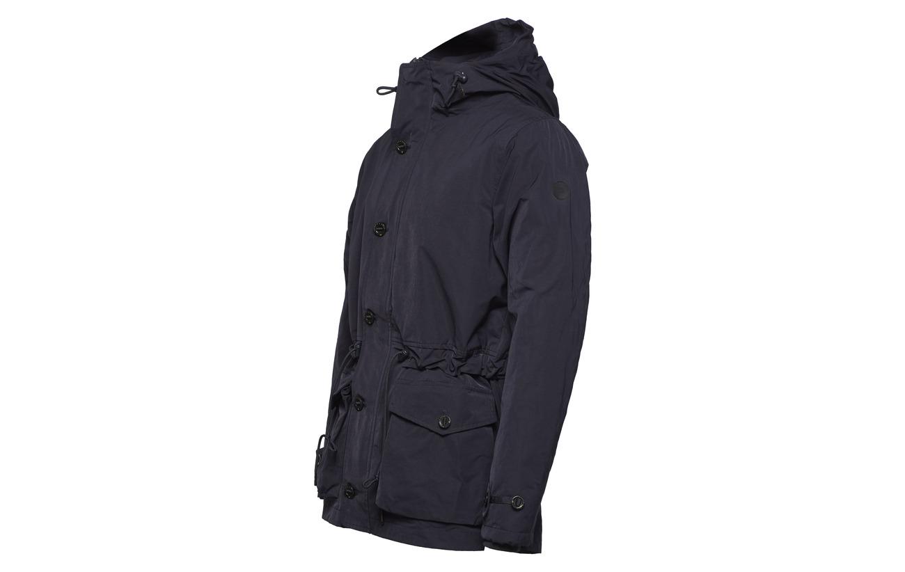 Hooded Mid Padding Soda Night Scotch length amp; Jacket With IqxOEZAvw