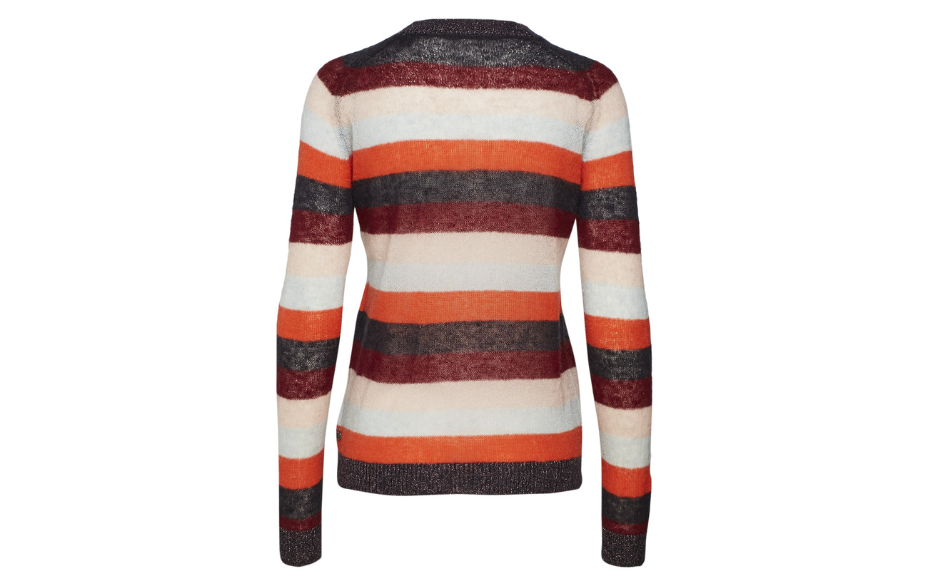 Knitted Crew A Neck In 21 29 23 27 amp; Scotch Soda Laine Colourful Nylon Mohair Polyester Combo Stripes zqHSEtUnw