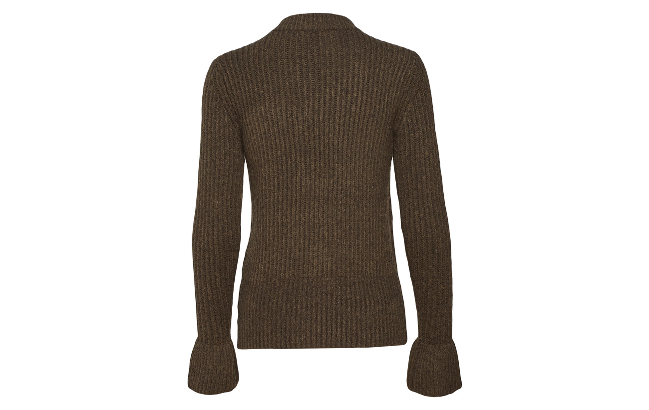 Pullover At 6 Scotch Melange Tonal Knit Acrylique Alpaga 42 22 Buttons Laine 30 Shoulders With Cosy Military Nylon Soda amp; Press qHwrBHtz