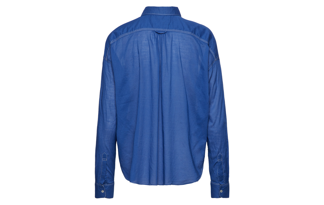 Scotch Coton Weight Yinmin Soda Cotton Shirt Light 100 Blue amp; qHpqv