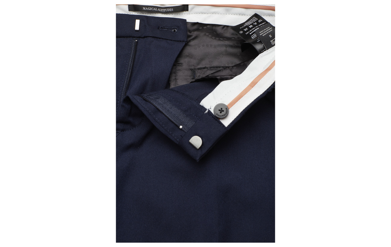 23 Elastane Équipement Solids Pants Night Polyester 2 With In Classic Tailored Soda Scotch Sold amp; 75 A Belt Viscose qwAUxSZ