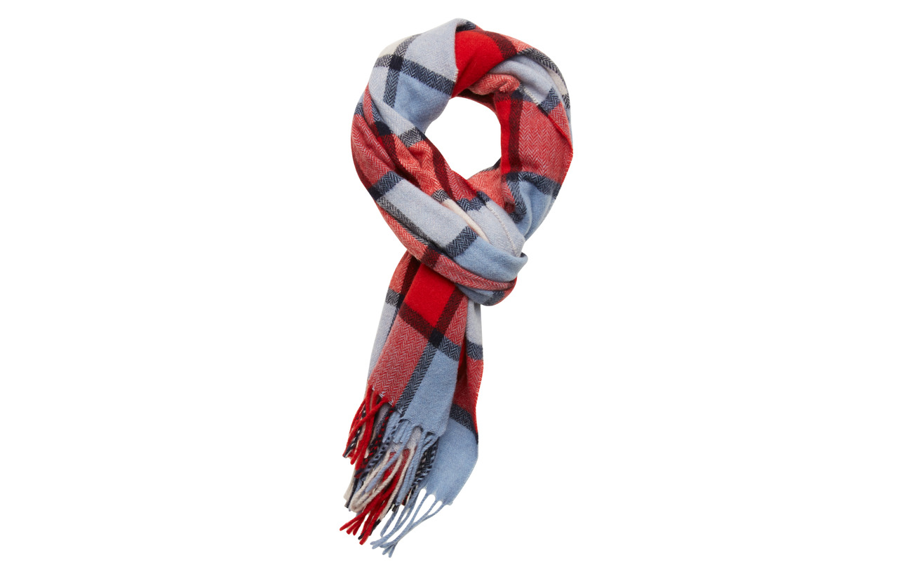 Wool In CScotchamp; Woven Qualitycombo Soda Scarf Classic Check blend trshQd