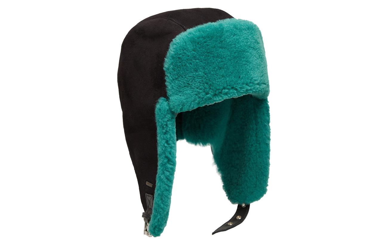 Scotch & Soda Shearling trapper hat - NIGHT