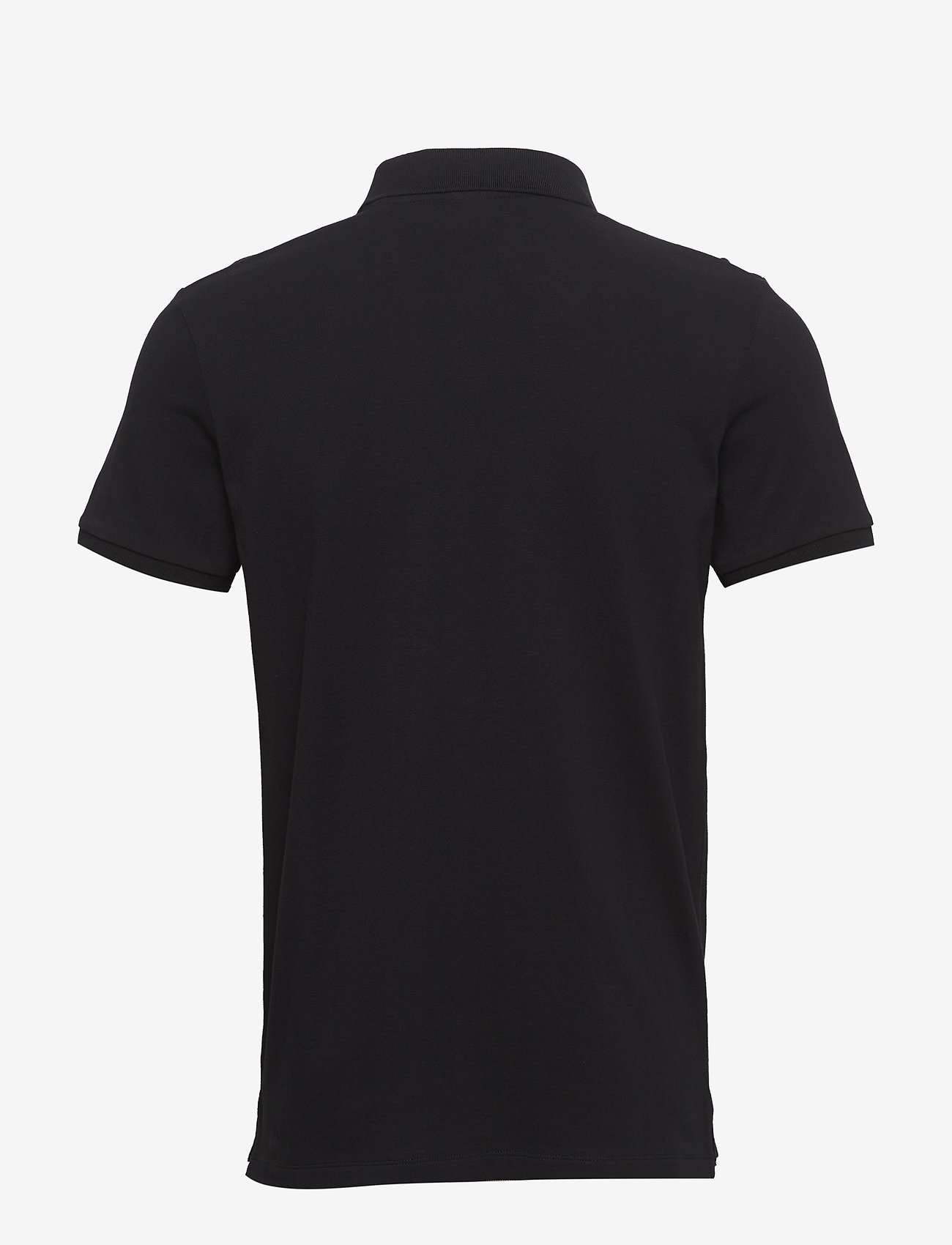 Scotch & Soda - - Classic polo in pique quality with clean outlook - short-sleeved polos - black - 1