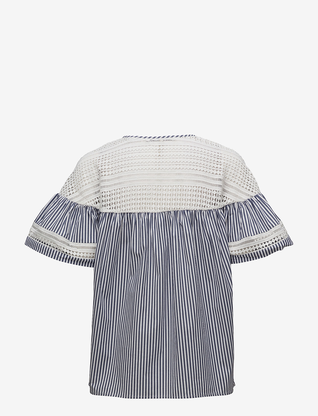 Scotch & Soda - Short sleeve striped top - lyhythihaiset puserot - combo s