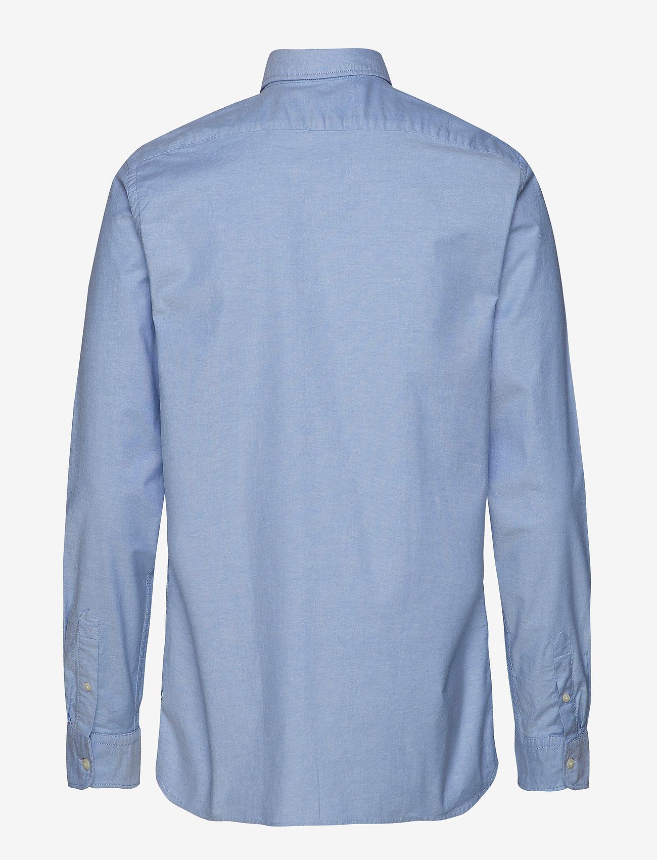 Scotch & Soda - NOS Oxford shirt regular fit button down collar - chemises basiques - blue - 1
