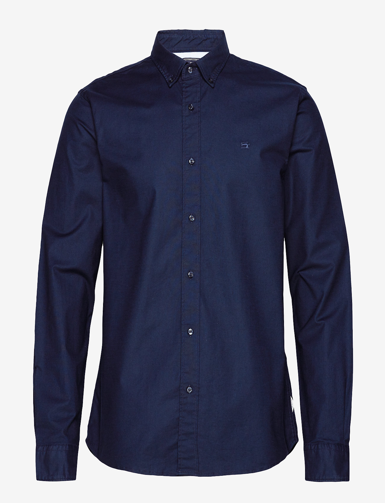 Scotch & Soda - NOS Oxford shirt regular fit button down collar - chemises basiques - night - 0
