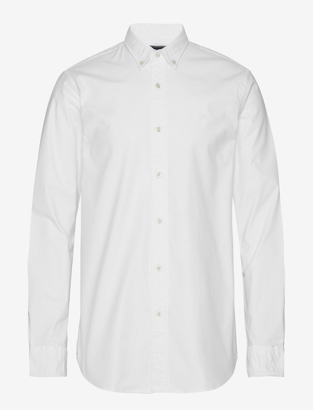 Scotch & Soda - NOS Oxford shirt regular fit button down collar - chemises basiques - white - 0
