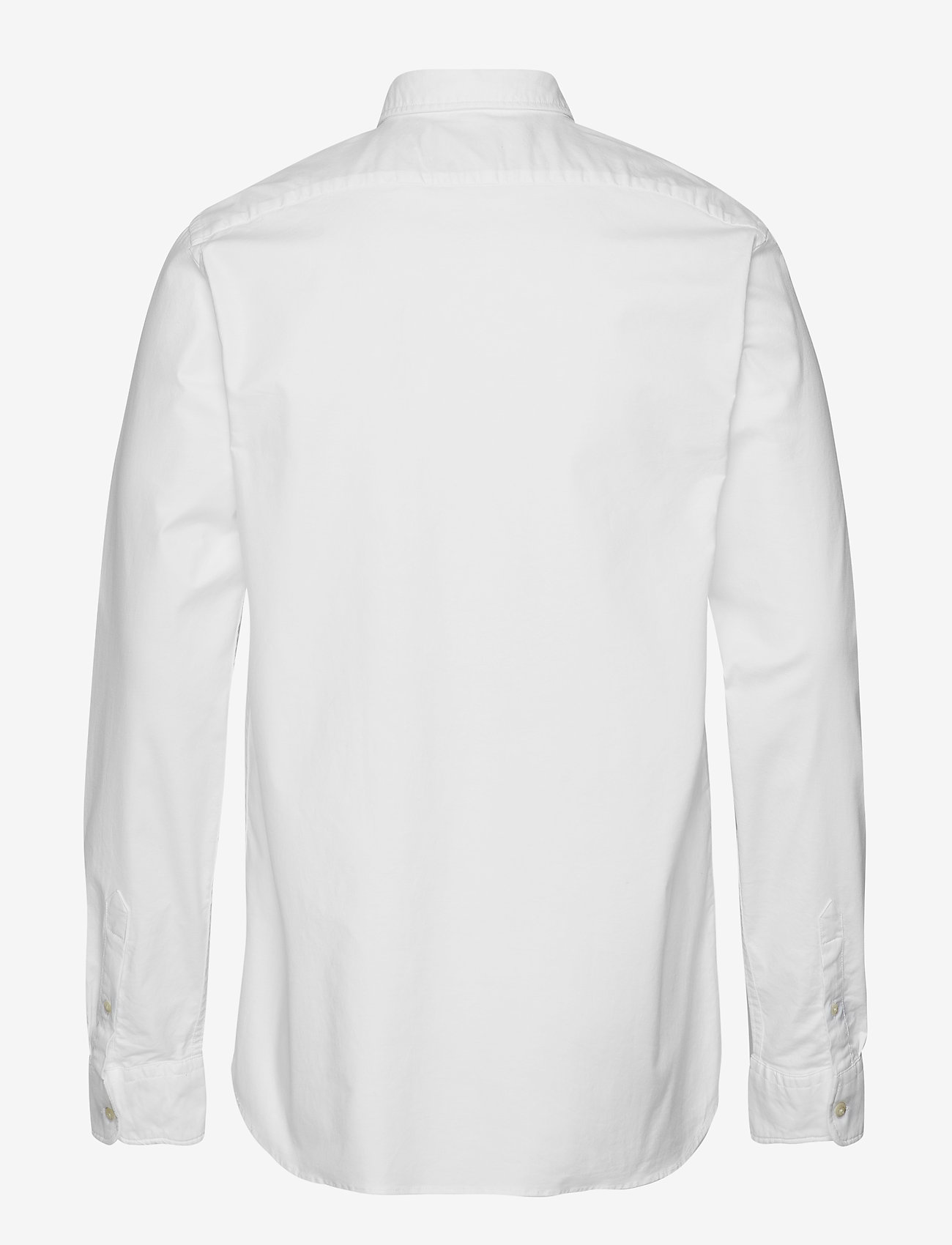 Scotch & Soda - NOS Oxford shirt regular fit button down collar - chemises basiques - white - 1
