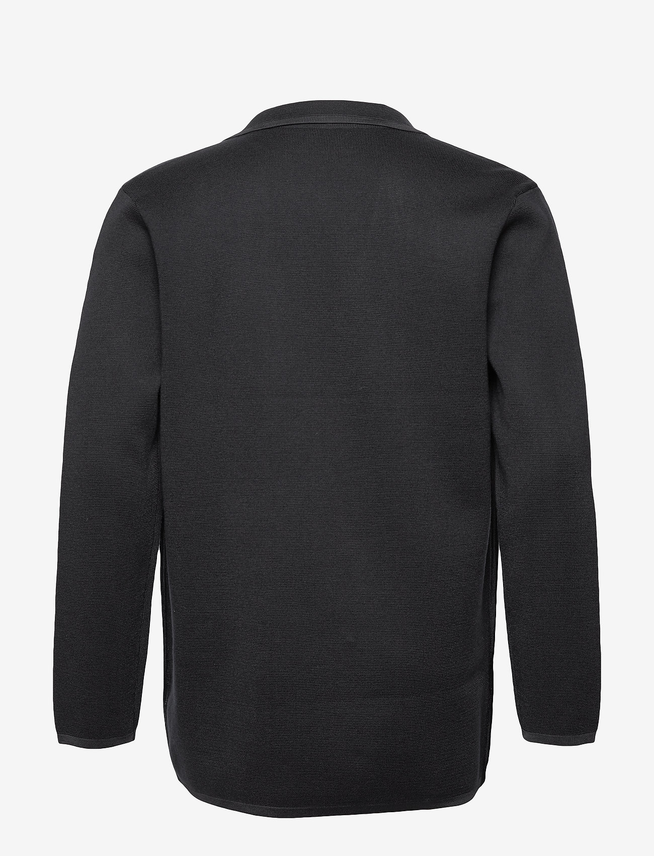 Scotch & Soda - New longer length double breasted knitted blazer - tricots basiques - night - 1