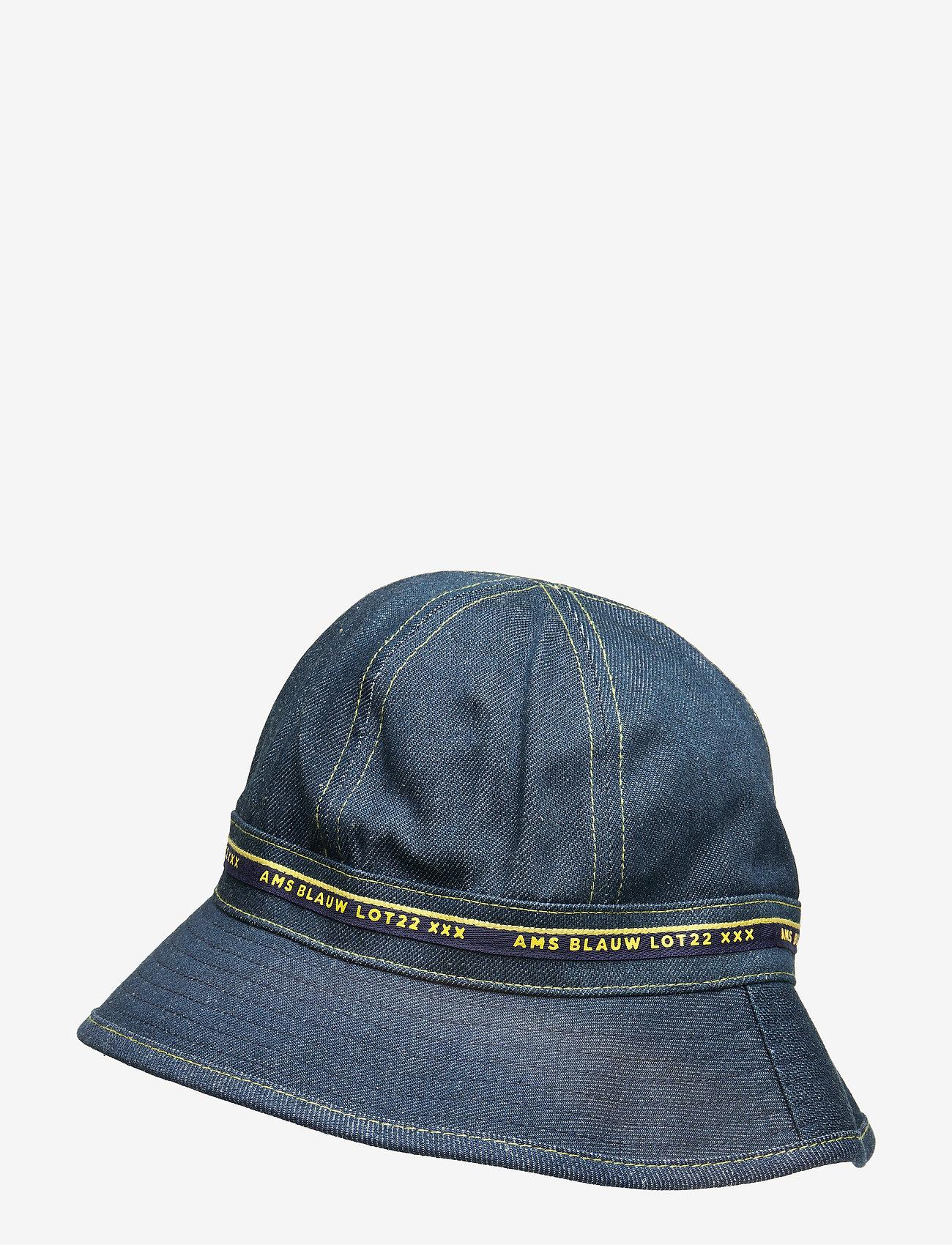 Scotch & Soda - Lot 22 bucket hat - bucket hats - indigo - 1