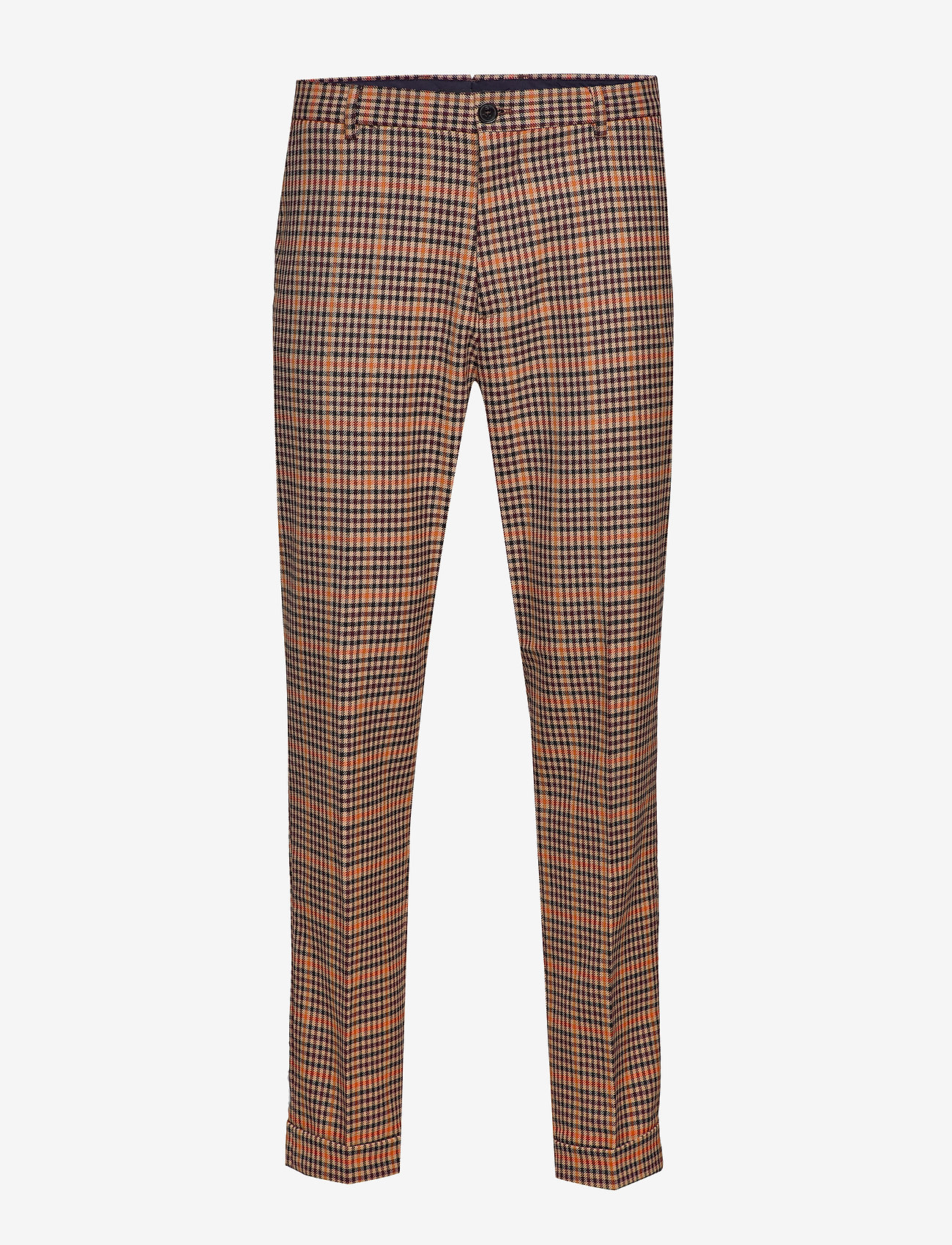 Scotch & Soda - SEASONAL FIT- Chic gentlemans chino in yarn-dyed pattern - suitbukser - combo b - 0